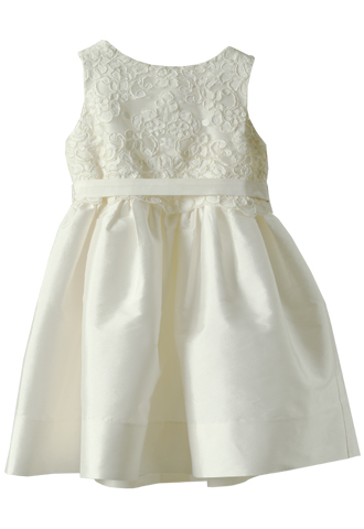 [Us Angels]<br>レース子供ドレス(90cm)-アイボリー