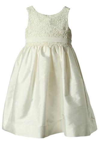 [Us Angels]<br>レース 子供ドレス(100cm)-アイボリー