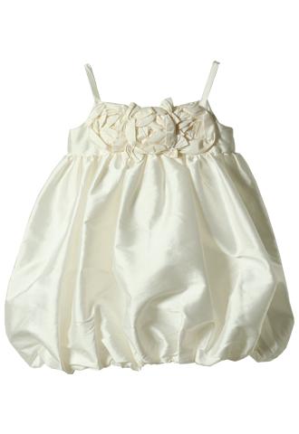 [Us Angels]<br>バルーンスカート 子供ドレス(100cm)-ホワイト