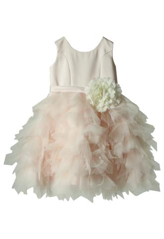 [Us Angels]<br>ボリュームチュール 子供ドレス(100㎝)-ピンク