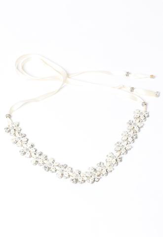 [Maria Elena]<br>Flower Headband-Ivory