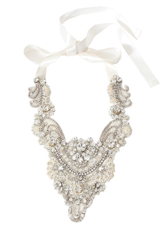 [Delsa]<br>Necklace-Ivory