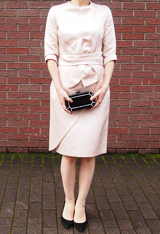 【Katie Ermilio】LONG SLEEVE DRESS