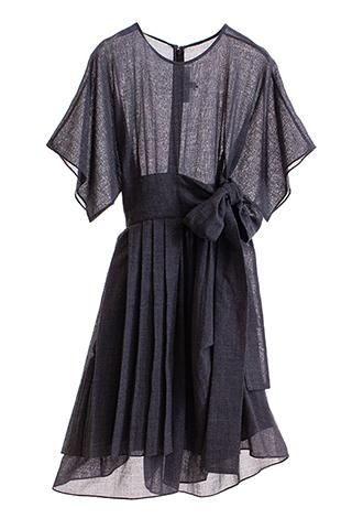 【Morgane Le Fay】WEST RIBBON DRESS