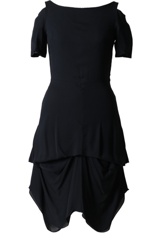 [Morgane Le Fay]<br>Boatneck Dress-Navy