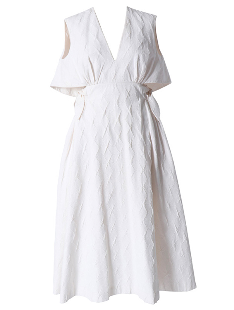 [Delpozo]<br>サマードレス-ホワイト