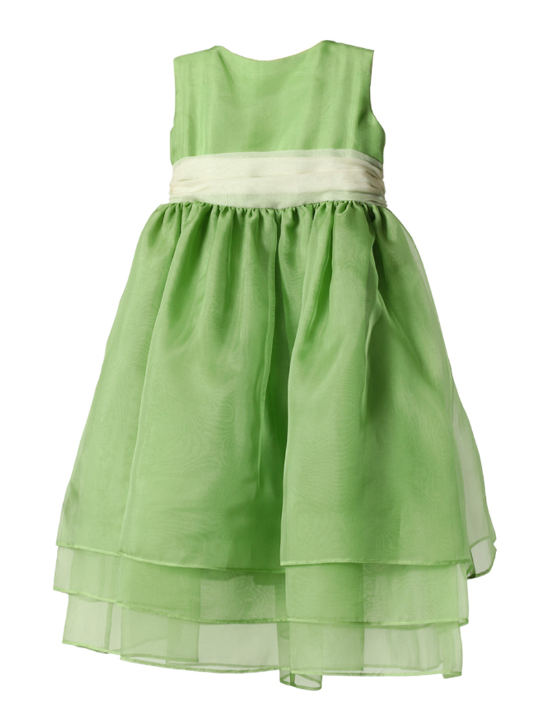 [Jenny Yoo]<br>チュール 子供ドレス(100cm)-グリーン