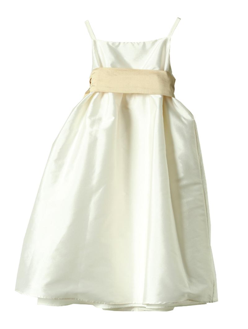 [Us Angels]<br>キャミソール 子供ドレス(100cm)-ホワイト/ベージュ