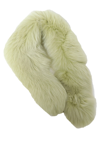 [Cassin New York]<br>Real Fur-Green