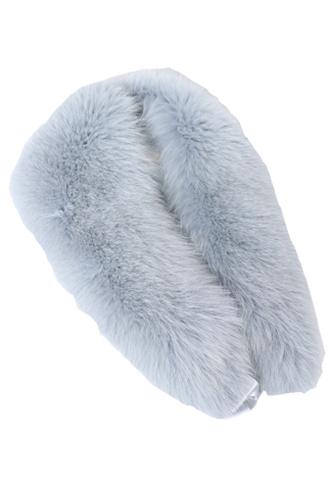 [Cassin New York]<br>Real Fur-Blue