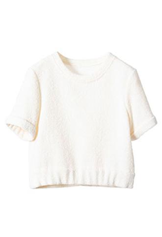 [Houghton]<br>Sleeved Tops-White