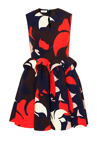 【DELPOZO】VOLUMETRIC SHORT DRESS