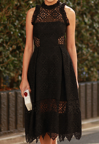 【NICHOLAS】LACE DRESS