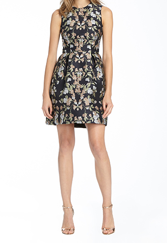 【ML Monique Lhuillier】A LINED DRESS