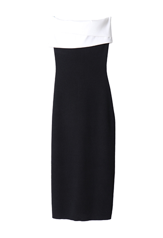 [Sachin&Babi]<br>Strapless Dress-Black