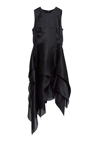 【Morgane Le Fay】SILK SATIN DRESS