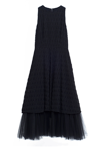 【Morgane Le Fay】TULLE LONG DRESS