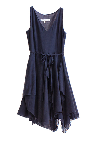 【Morgane Le Fay】FRILL V-NECK DRESS