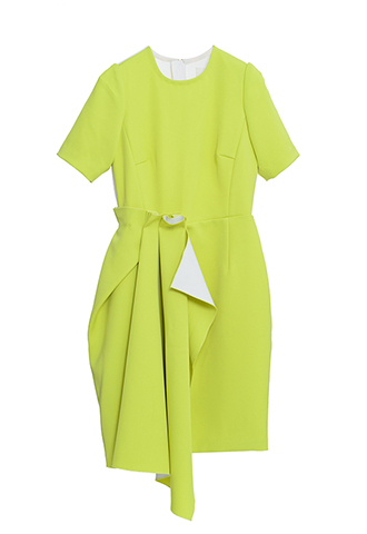 【KHOON HOOI】COLOR BLOCK DRESS