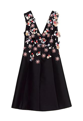 【Lela Rose】EMBROIDERY DRESS