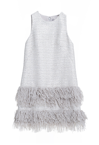 【Lela Rose】FRINGE DRESS(36)