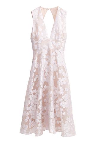 【Lela Rose】SHINY FLARE DRESS