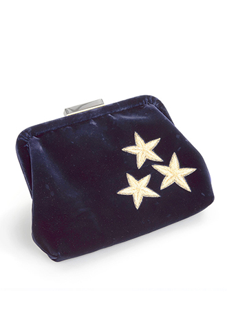 【Edie Parker】VELVET SHOULDER BAG