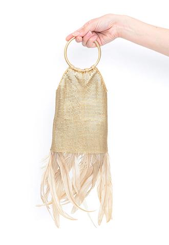 【Whiting&Davis】TILE HAND BAG